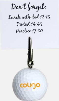 Golf Memoklämma - Med tryck