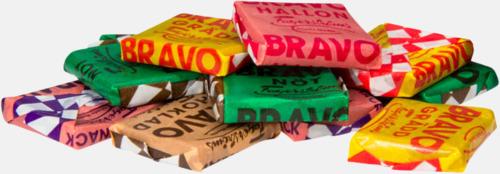 BRAVO-kolor Strutar med polkagris, kola eller skumgodis - med reklamtryck