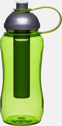 Grön Vattenflaska med iskolv från Sagaform