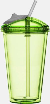 Grön Take away-smoothiemuggar från Sagaform