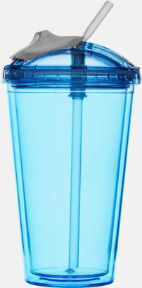 Blå Take away-smoothiemuggar från Sagaform