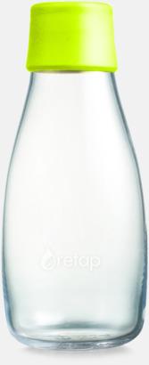 Lemon Lime Mindre vattenflaskor av glas med reklamtryck