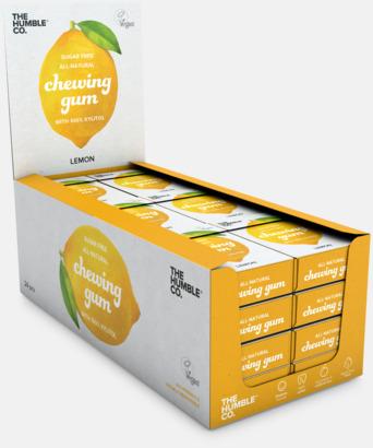 Display citron (se tillval) Tuggummin med reklamtryck