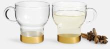 2-pack glasmuggar från Sagaform med reklamtryck