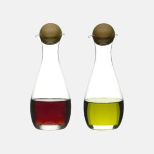 Set med ojla- & vinägerflaskor med reklamtryck