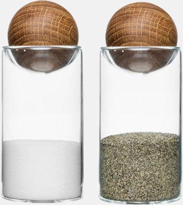 Salt- & pepparset från Sagaform med reklamtryck