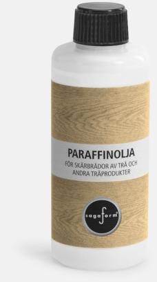 Paraffinolja (se tillval) Massiva bokskärbrädor från Sagaform med reklamtryck