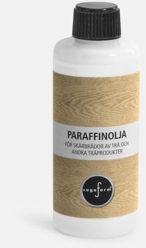 Paraffinolja (se tillval) Stora bokskärbrädor från Sagaform med reklamtryck