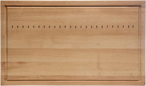Trä Stora bokskärbrädor från Sagaform med reklamtryck