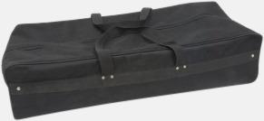 Transportväska (ingår) Kurvad mässvägg i tyg med eget tryck
