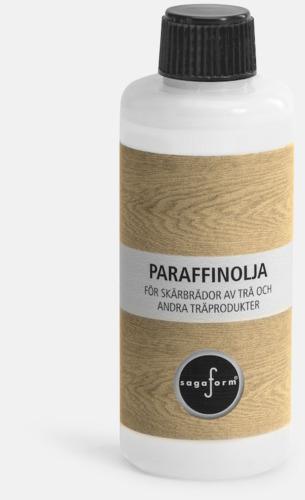 Paraffinolja (se tillval) Ekbrickor från Sagaform med reklamtryck
