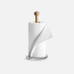 Hushållspappershållare från Sagaform med reklamtryck