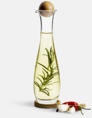 Glasflaskor från Sagaform med reklamtryck