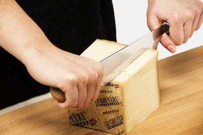 Ostknivar med dubbla handtag - med reklamtryck