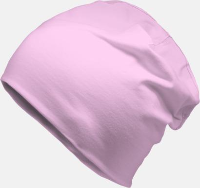 Baby Pink Bomullsmössor med egen reklamlogga