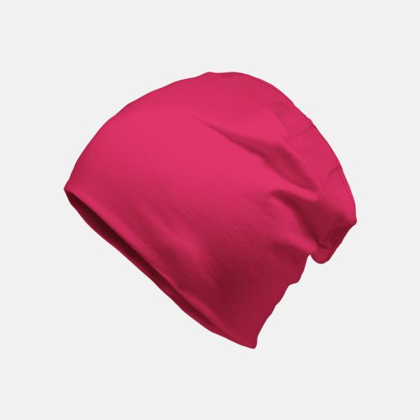 Hot Pink Bomullsmössor med egen reklamlogga