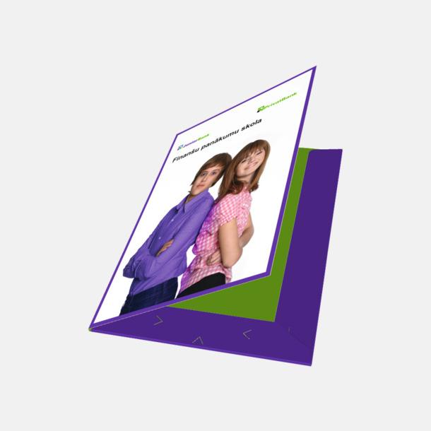 Gloss 1 sida Offertmappar med egen logga