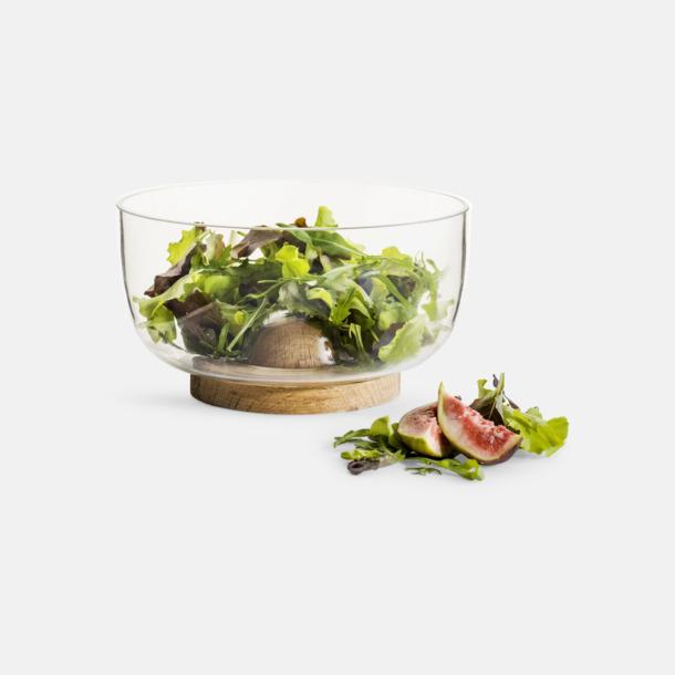 Liten Glasskålar i 2 storlekar med reklamtryck