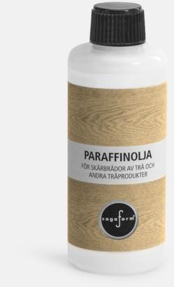 Paraffinolja (se tillval) Skärbrädor i ek från Sagaform med reklamlogo