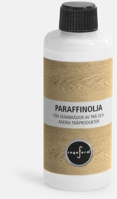 Paraffinolja (se tillval) Ostkupor från Sagaform med reklamtryck
