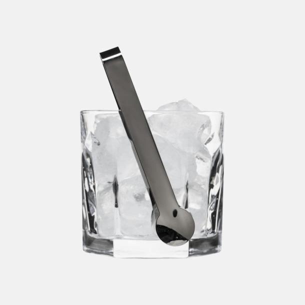 Transparent / Grå Club vinkylare med reklamtryck