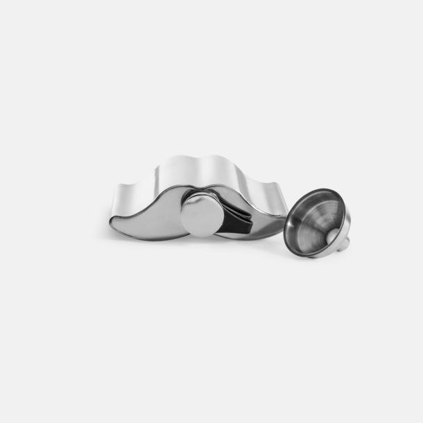 Mustaschformade pluntor från Sagaform med reklamtryck
