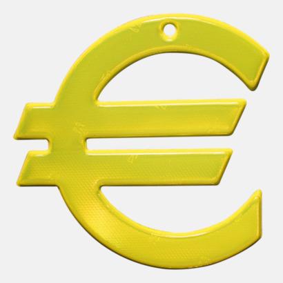 Prisklass 3 Euro Mjuka reflexer i 100 tals olika former med eget tryck