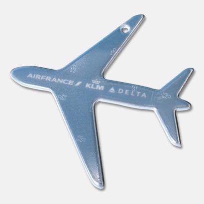 Prisklass 3 Flygplan Mjuka reflexer i 100 tals olika former med eget tryck