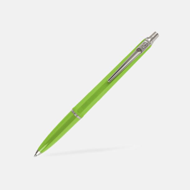 Neongrön (bläck) Ballografpennor med eget tryck