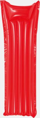 Röd Luftmadrass med tryck, egen logo eller reklamtryck