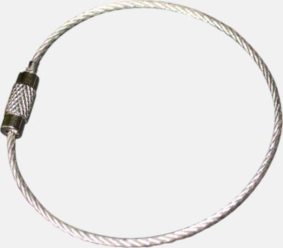 Metall wire med skruvlås (se tillval) Mjuka reflexer i 100 tals olika former med eget tryck