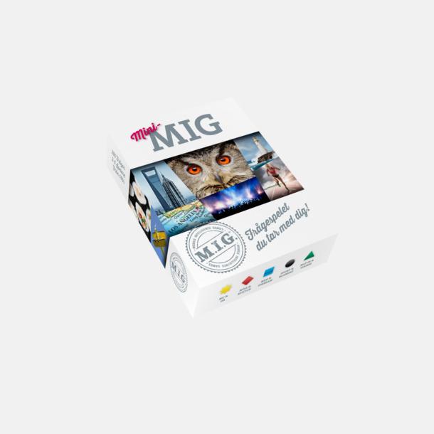 Mini-MIG (vuxen) MIG sällskapsspel med eget tryck