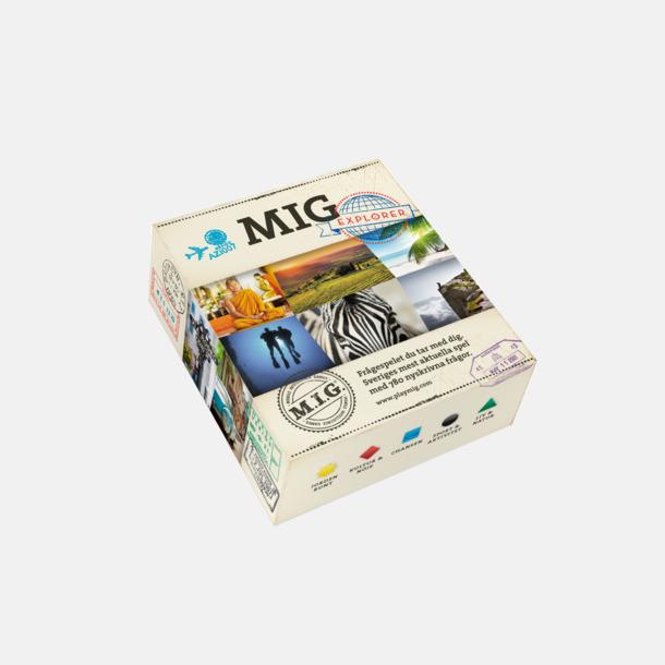 Explorer (Mellan MIG) MIG sällskapsspel med eget tryck