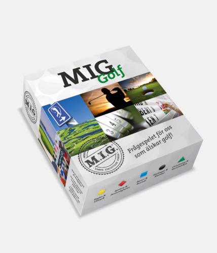 Golf (Mellan MIG) MIG sällskapsspel med eget tryck