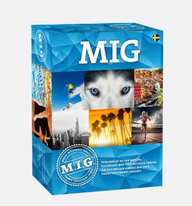 MIG Blå (Big MIG) MIG sällskapsspel med eget tryck