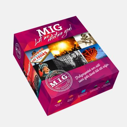 Let Me Entertain You (Mellan MIG) Sällskapsspel från MIG med eget reklamtryck