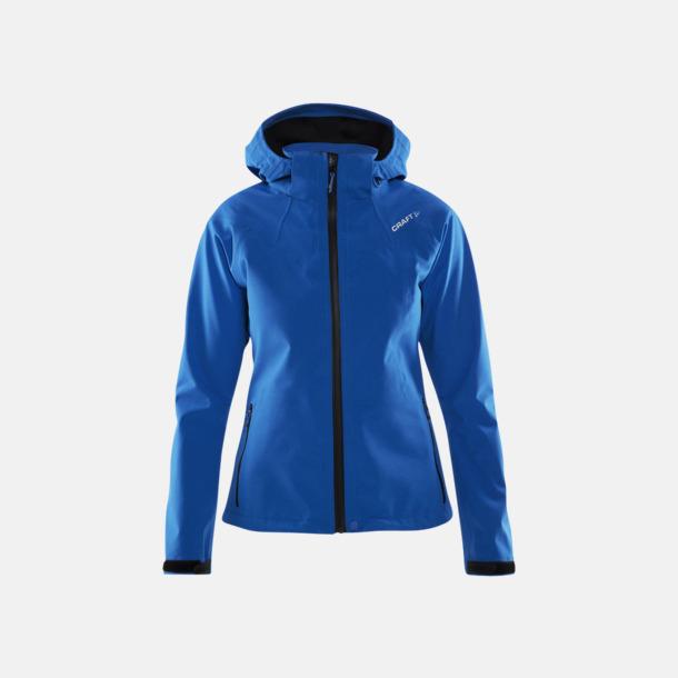 Sweden Blue (dam) Vattentäta jackor från Craft med egen logga