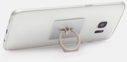 Hållare och ställ för mobilen - med reklamlogo