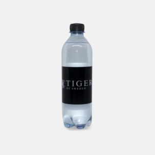 Mineralvatten i PET flaska med eget reklamtryck