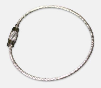 Metall wire med skruvlås (se tillval) Egendesignade 35 reflexer med eget tryck