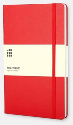 Scarlet Red Kalender med adressbok från Moleskine med reklamtryck
