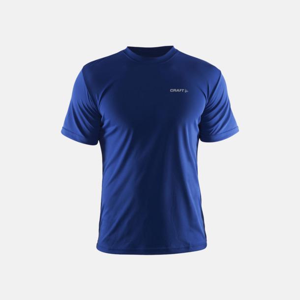 Cobolt (Herr) Funktion t-shirts från Craft med reklamtryck