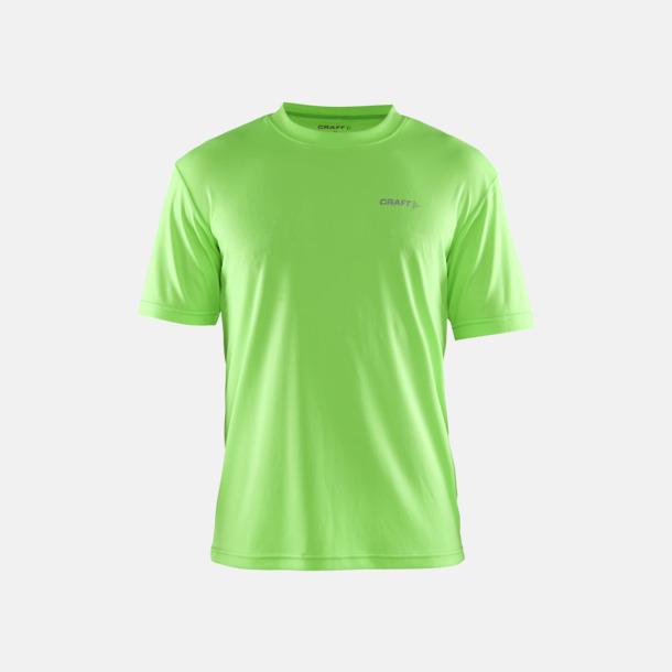 Gecko (Herr) Funktion t-shirts från Craft med reklamtryck