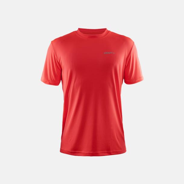Shock (Herr) Funktion t-shirts från Craft med reklamtryck
