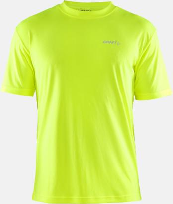 Flumino (Herr) Funktion t-shirts från Craft med reklamtryck