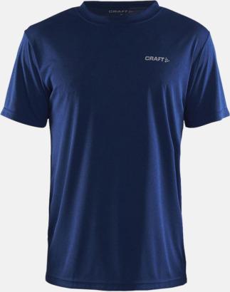 Deep Melange (Herr) Funktion t-shirts från Craft med reklamtryck