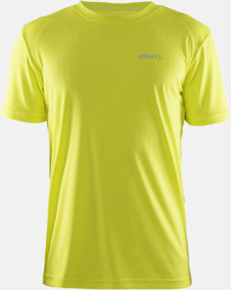 Race Melange (Herr) Funktion t-shirts från Craft med reklamtryck