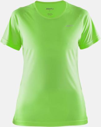 Gecko (dam) Funktion t-shirts från Craft med reklamtryck
