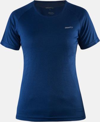 Deep Melange (dam) Funktion t-shirts från Craft med reklamtryck