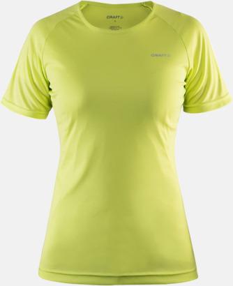 Race Melange (dam) Funktion t-shirts från Craft med reklamtryck